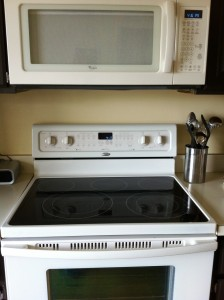 "Whirlpool ""bisque"" appliances"