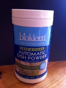 Biokleen Free & Clear Automatic Dish Powder